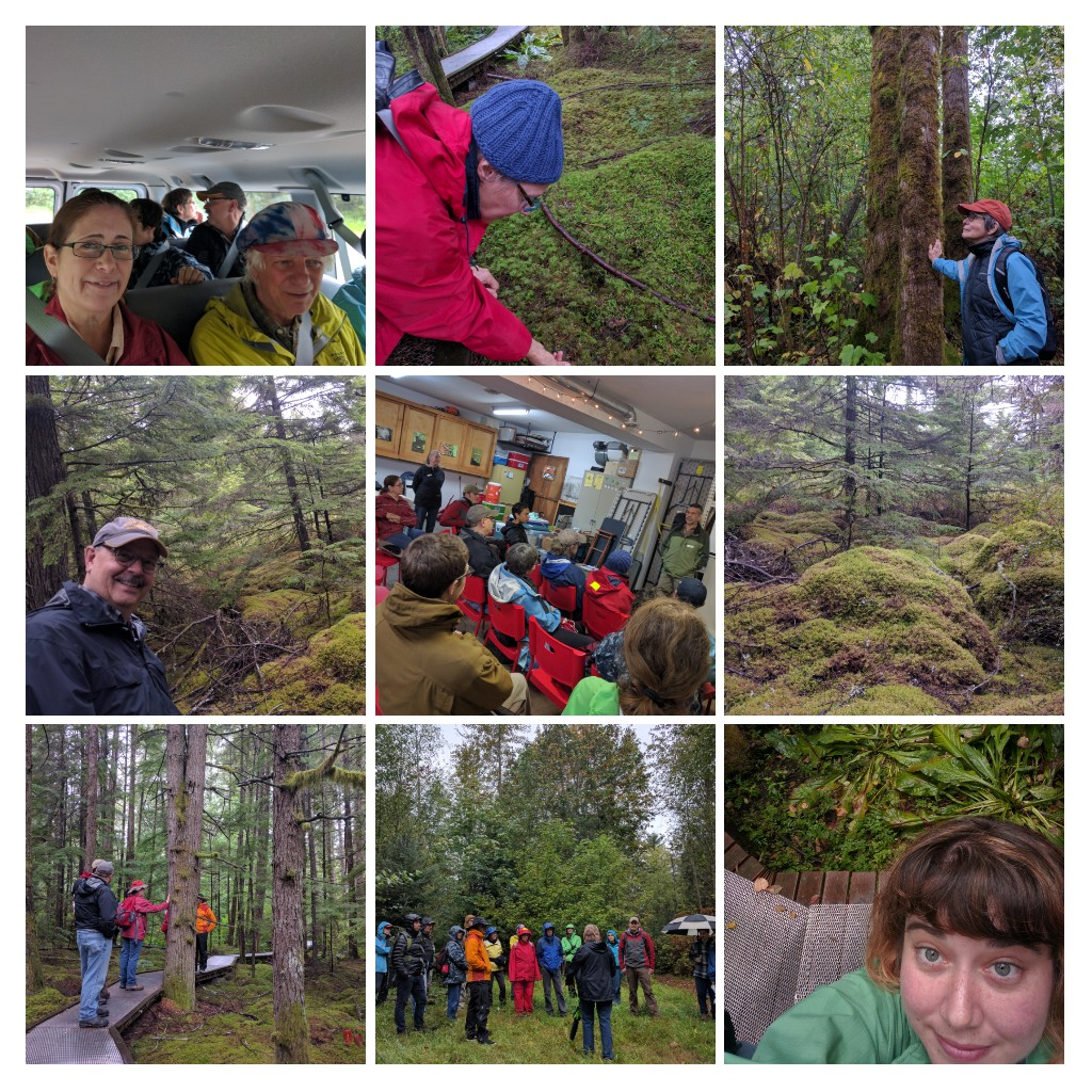 Stewards on a 2016 field trip explore and learn together.