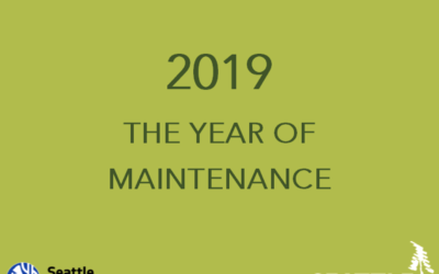2019 – The Year of Maintenance